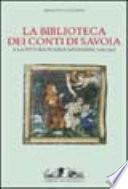 La biblioteca dei conti di Savoia e la pittura in area savoiarda
