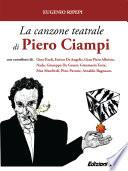 La canzone teatrale di Piero Ciampi