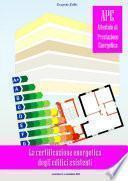 La certificazione energetica negli edifici esistenti