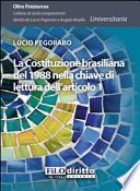 La Costituzione brasiliana del 1988 nella chiave di lettura dell'articolo 1