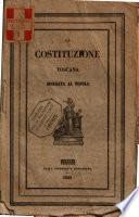 La costituzione toscana spiegata al popolo