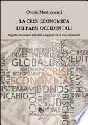 La crisi economica dei paesi occidentali