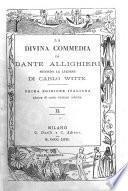La Divina Commedia di Dante Allighieri secondo la lezione di Carlo Witte