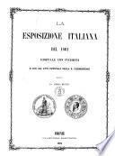 La esposizione italiana del 1861 giornale con 190 incisioni e con gli atti ufficiali della Commissione