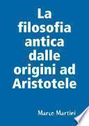 La filosofia antica dalle origini ad Aristotele