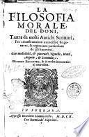 La filosofia morale del Doni
