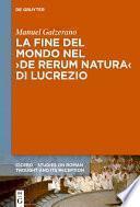 La fine del mondo nel ›De rerum natura‹ di Lucrezio
