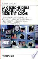 La gestione delle risorse umane negli enti locali