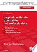 La gestione fiscale e contabile del professionista