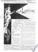 La lanterna giornale artistico, teatrale, umoristico, letterario