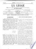 La legge monitore giudiziario e amministrativo del Regno d'Italia