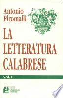 La letteratura calabrese