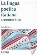 La lingua poetica italiana