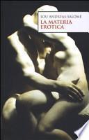 La materia erotica