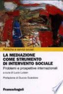La mediazione come strumento di intervento sociale