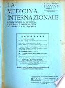 La medicina internazionale rivista mensile illustrata di medicina chirurgia farmacologia scientifica e letteraria