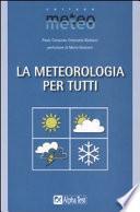 La meteorologia per tutti