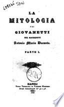 La mitologia pei giovanetti di Antonio Maria Durante