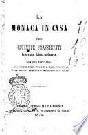 La monaca in casa per Giuseppe Frassinetti