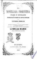 La novellaja Fiorentina. Fiabe e novelline stenografate in Firenze dal dettato popolare