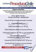 La Nuova Procedura Civile (03/2013)