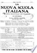La nuova scuola italiana rivista magistrale settimanale