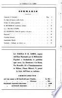 La parola e il libro mensile della Università popolare e delle biblioteche popolari milanesi