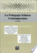 La pedagogia italiana contemporanea