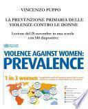 La prevenzione primaria delle violenze contro le donne