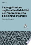 La progettazione degli ambienti didattici per l'apprendimento delle lingue straniere