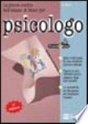 La prova scritta dell'esame di Stato per psicologo