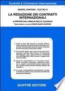 La redazione dei contratti internazionali. A partire dall'analisi delle clausole