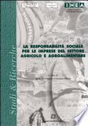 La responsabilità sociale per le imprese del settore agricolo e agroalimentare
