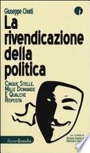 La rivendicazione della politica
