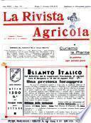 La rivista agricola industriale finanziaria commerciale