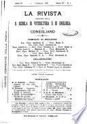 La rivista periodico della R. Scuola di Viticoltura e di Enologia di Conegliano