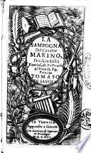 La sampogna del caualier Marino, diuisa in idillij fauolosi, & pastorali ..