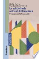 La schizofrenia nel test di Rorschach