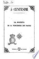 La Società di S. Vincenzo de' Paoli