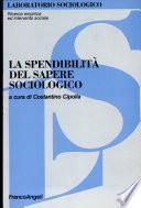 La spendibilità del sapere sociologico
