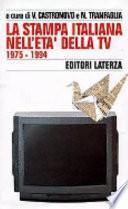 La stampa italiana nell'età della TV
