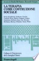 La terapia come costruzione sociale