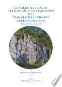 La Valle del Salto nei disegni e nei racconti dei viaggiatori europei dell'Ottocento