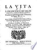La vita di S. Francesco di Sales