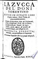 La Zucca, Divisa In Cinque Libri (etc.)