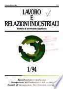 Lavoro e relazioni industriali