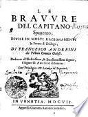 LE BRAVVRE DEL CAPITANO Spaueno