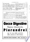 Le forze sanitarie organo ufficiale del Sindacato nazionale fascista dei medici e degli ordini dei medici