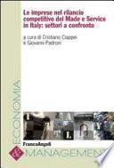 Le imprese nel rilancio competitivo del made e service in Italy: settori a confronto