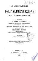 Le leggi naturali dell'alimentazione degli animali domestici